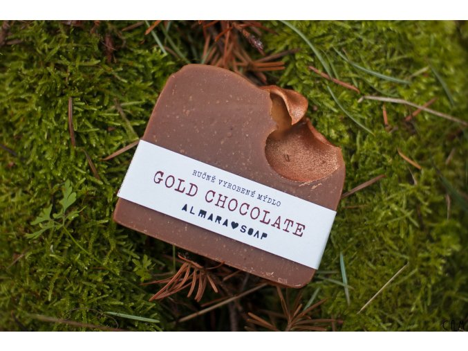 Mýdlo Almara Soap Gold Chocolate