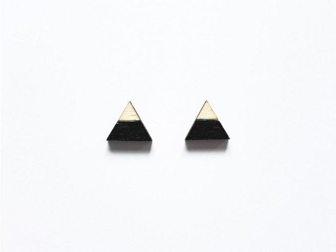 nc triangle split black t