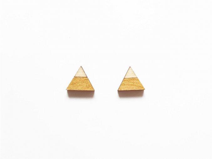 nc triangle split gold t