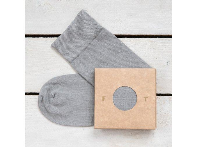 Ponožka Flashtones šedá č 083