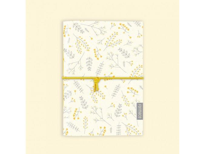 Zápisník Formace A6 Jarní