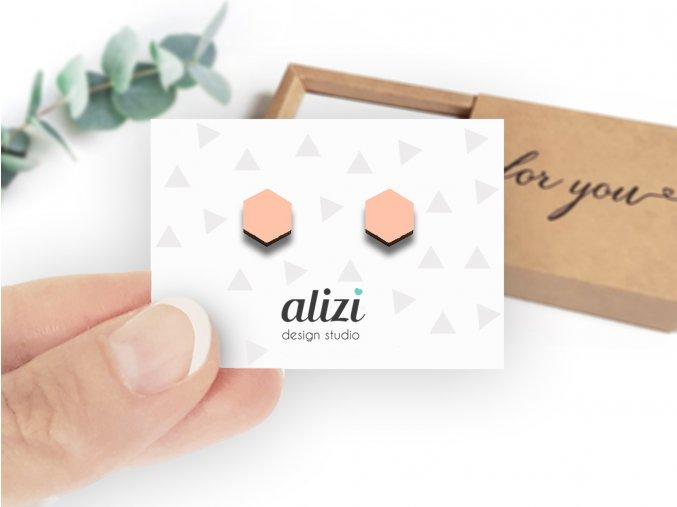 Náušnice Alizi Design Polygon