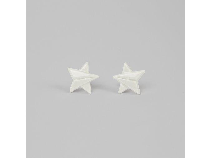 náušnice Stehlík hvězdy