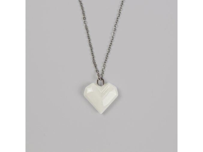 náhrdelník Stehlík srdce malé
