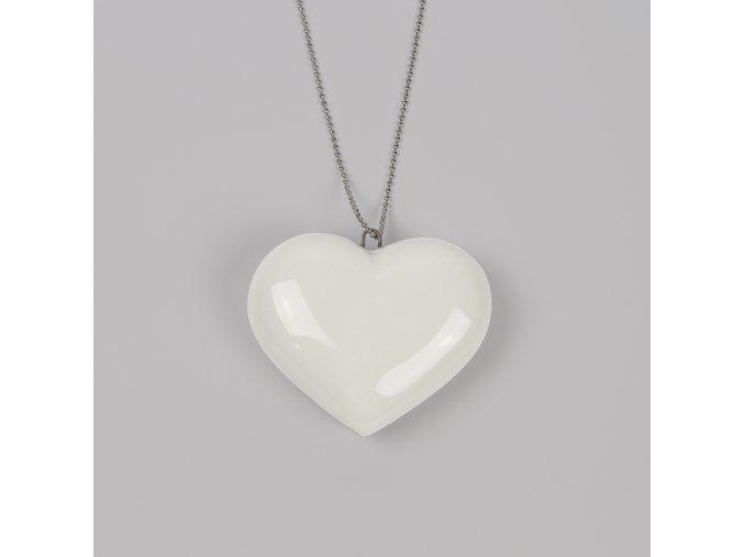 náhrdelník Stehlík srdce velké