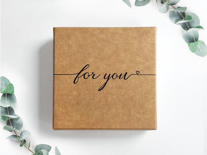 gift box BROOCH new