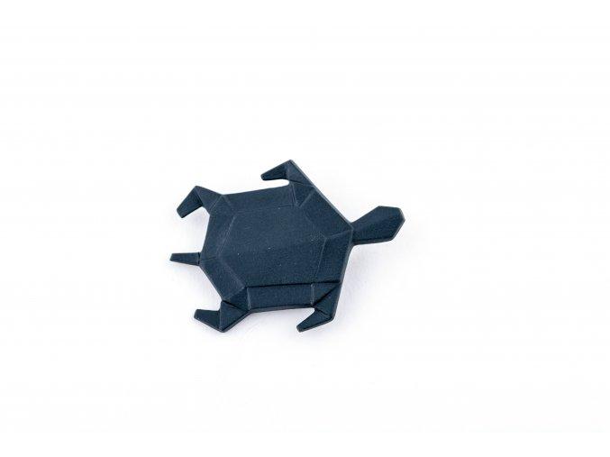 brož Stehlík Želva, černá