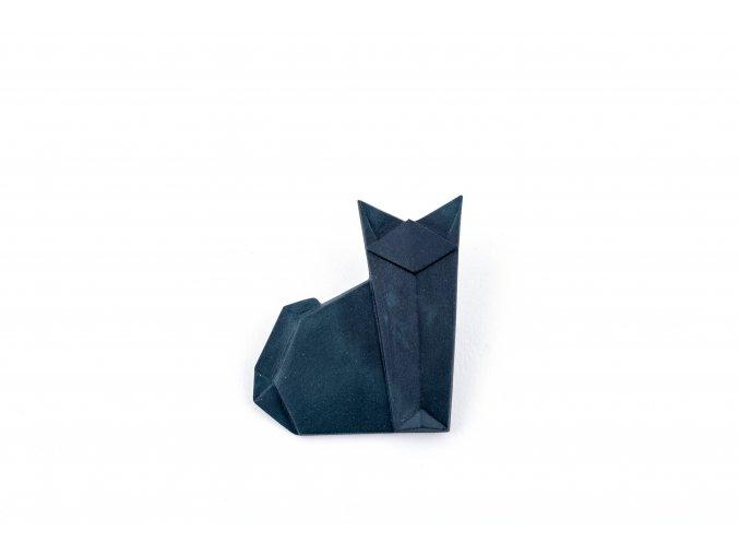 brož Stehlík Kočka černá