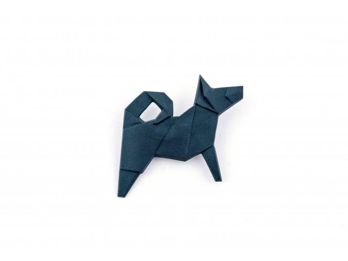 brož Stehlík Pes černý