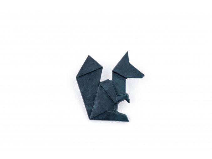 brož Stehlík Veverka černá