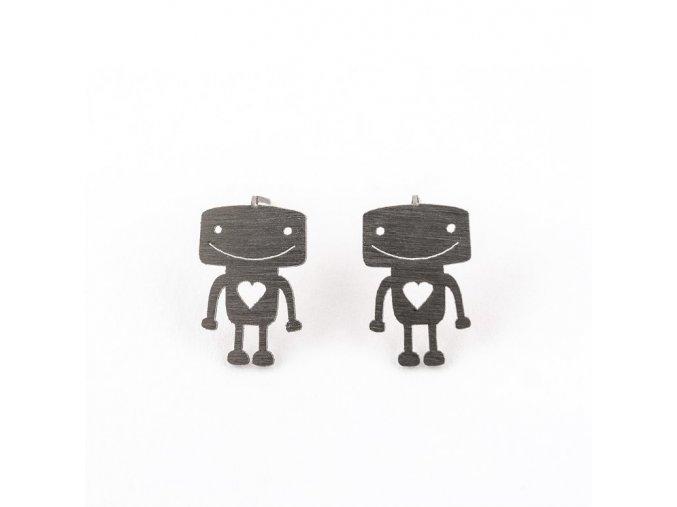 Náušnice Jelly Fish Roboti
