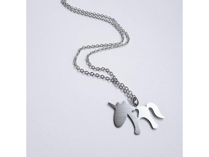 náhrdelník Jelly fish Jednorožec