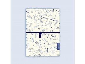 Zápisník Formace A6 modrý