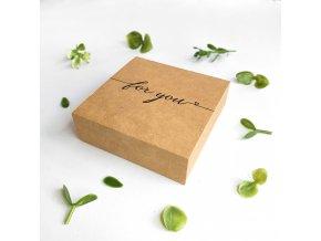 gift box BROOCH logo