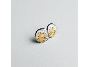 Náušnice Design Empathy Kočka