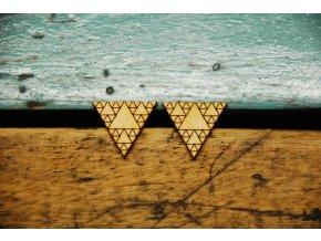 Náušnice Fifle Trojúhelníky