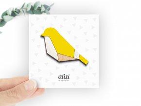B bird geom yellow
