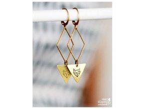 pretty fox earrings