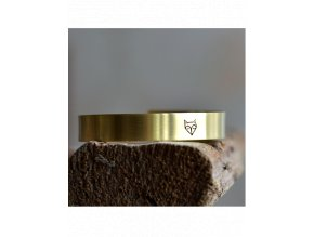 adjustable fox cuff bangle bracelet (1)