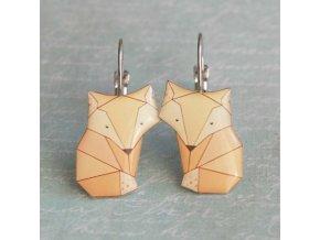 lišky náušky