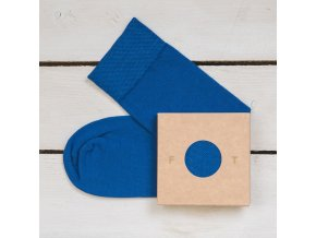 Ponožka Flashtones Tmavě Modrá č. 064