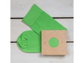 Ponožka Flashtones Světle Zelená