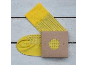 Ponožka Flashtones Žlutá