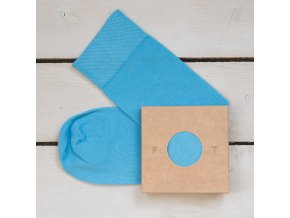 Ponožka Flashtones světle modrá č. 051