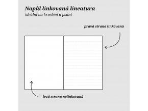 Zápisník Formace A6 Lesní